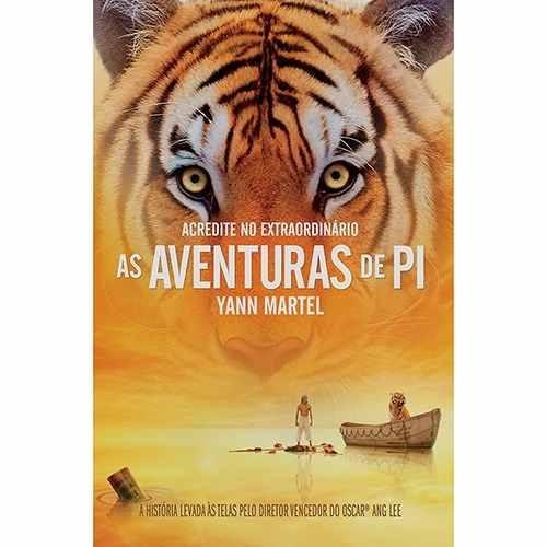 Livro As Aventuras De Pi + As Crônicas De Nárnia