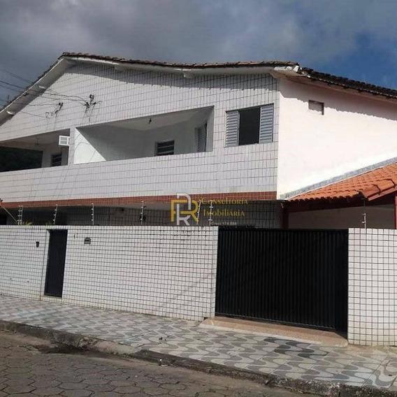 Casa Com 3 Dormitórios Para Alugar, 180 M² Por R$ 2.400/mês - Vila Voturua - São Vicente/sp - Ca0332