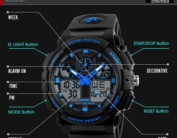 Relógio Skmei Original Modelo 1270 Prova D