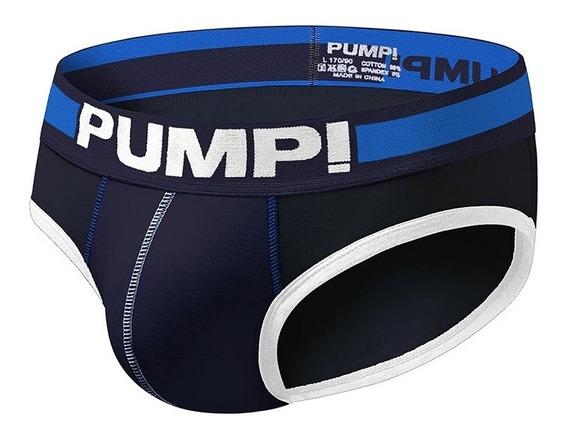 Cuecas Slip - Pump Marinho - Modelo H69