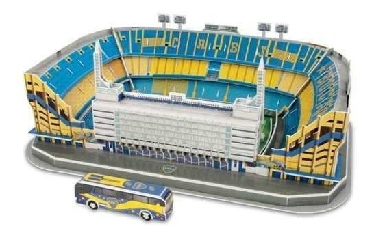 Kit Luces Led Para Maqueta Estadios 3d!! Boca La Bombonera