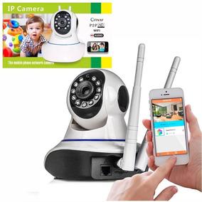Camera Ip Wifi Hd Segurança Wireless Noturna Baba Eletronica