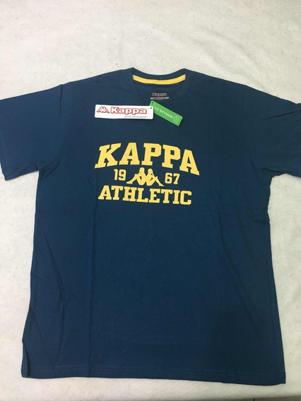 Remera Kappa Authentic Baldón Tee Caballero