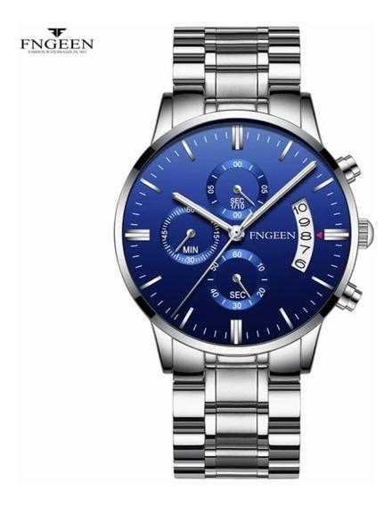 Relógio Quartzo Fngeen Luxo Promoção Imperdivel