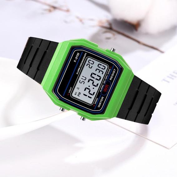 Relógio Digital Eletrônico Unissex De Esportes Ao Ar Livre M