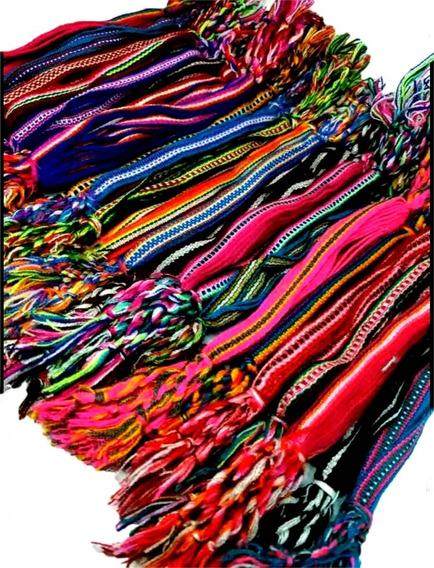 Pulseira Reggae Hippie Colorido *12* Unidades Unissex Verao