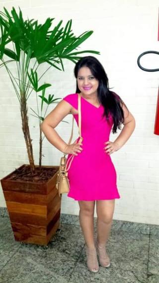 Vestido Rosa Bandagem