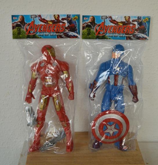 Avenger Capitan America Iron Man Juguete Niño Muñeco