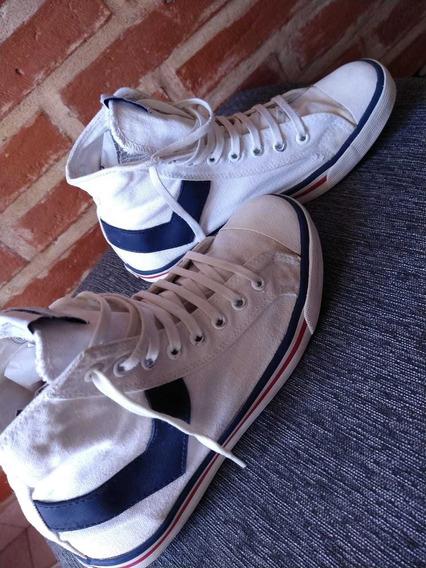 Zapatillas Blancas Pony Talle 38