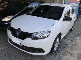 Renault Sandero Authentic 1.0 Flex Completo Impecável