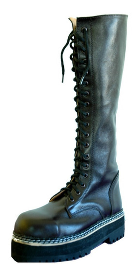 Borcegos Dirty Boots C.alta Base Triple Mujer Hombre 34a43