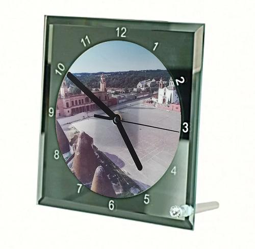 Reloj De Vidrio Jaral De Berrio Con Foto Explanada Principal