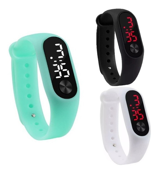 Relógio Digital Esportivo Bracelete Led Unissex Promoção!!!