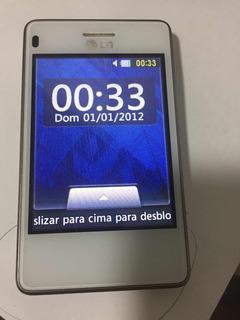 Celular Lg T375 Dual Chip 2gb Wi-fi, Defeitoleia