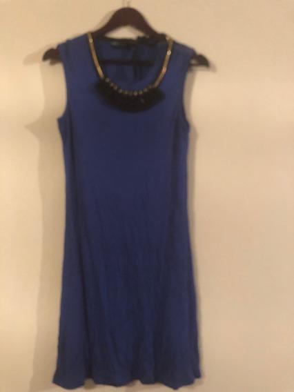 Vestido Bcbg Azul