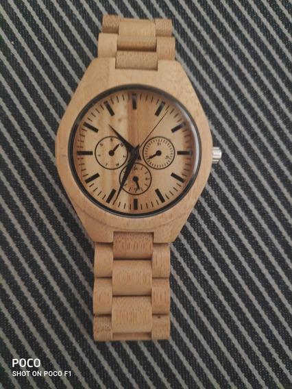 Reloj De Madera/bambú