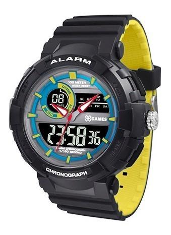 Relógio X-games Masculino Análogo Digital Xmppa267 Pxpy
