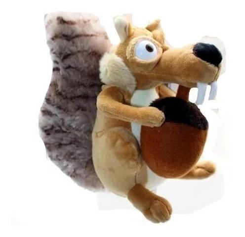 Boneco De Pelúcia Era Do Gelo Esquilo Scrat