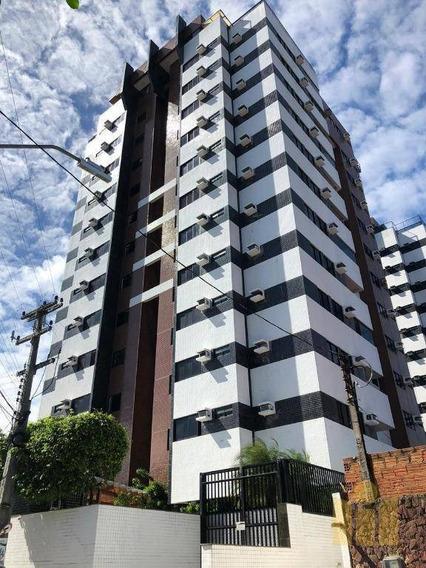 Apartamento Com 3 Dormitórios À Venda, 91 M² Por R$ 390.000 - Farol - Maceió/al - Ap0575