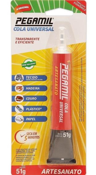 Cola Pegamil 51g Adesivo Instantâneo Maior Rendimento 11unid