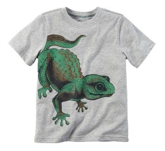 Remera Carters Iguana Talle 2 3 Y 4 Años