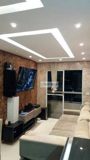 Apartamento Com 2 Dormitórios À Venda No Condomínio Start Vila Rosália , 57 M² Por R$ 320.000 - Vila Rosália - Guarulhos/sp - Ap0190