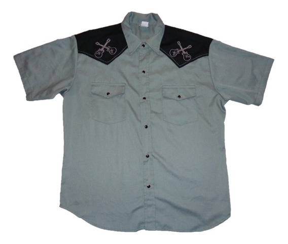 Rock And Roll Camisa De Caballero M Hall Of Fame Museum M C