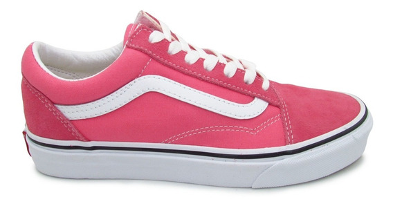 Tenis Vans Old Skool Vn0a38g1gy7 Strawberry Pink True White