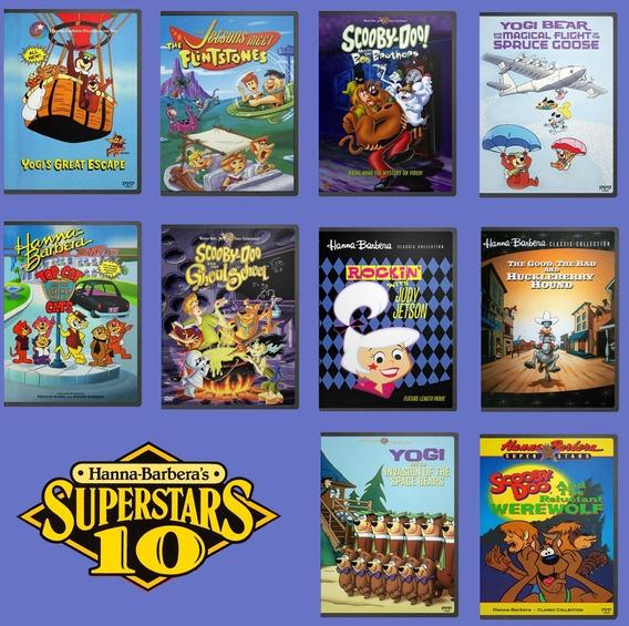 Superstars 10 Series - Longa Metragens Hanna Barbera Em Dvd