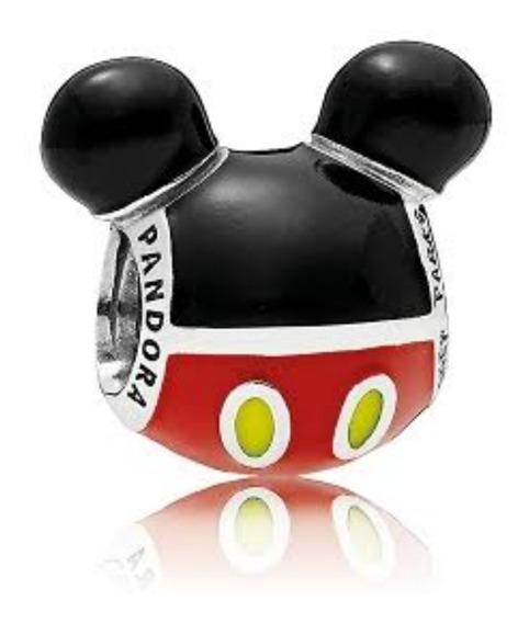 Charm Pandora Original Disney Icono De Mickey Mouse Jugueton