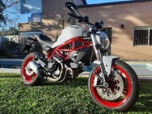 Moto Ducati Monster 797 Usada 2900km Zona Sur Adrogué