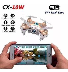 Nano Drone Quadcopter Cheerson Cx10 W Camera Hd 720p Fpv Wif