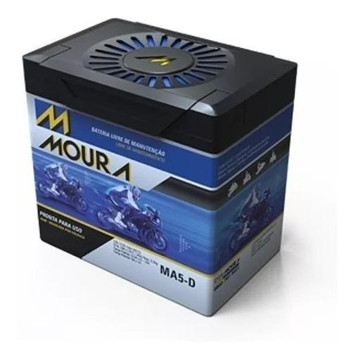 Bateria Moura Moto 5ah Selada Sem Manutenção Ma5-d
