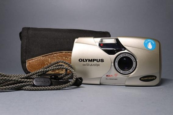 Câmera Olympus Stylus Epic 2.8 Quartzdate