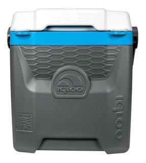 Caixa Térmica Igloo Quantum 12qt - 18 Latas 11l Preta/azul