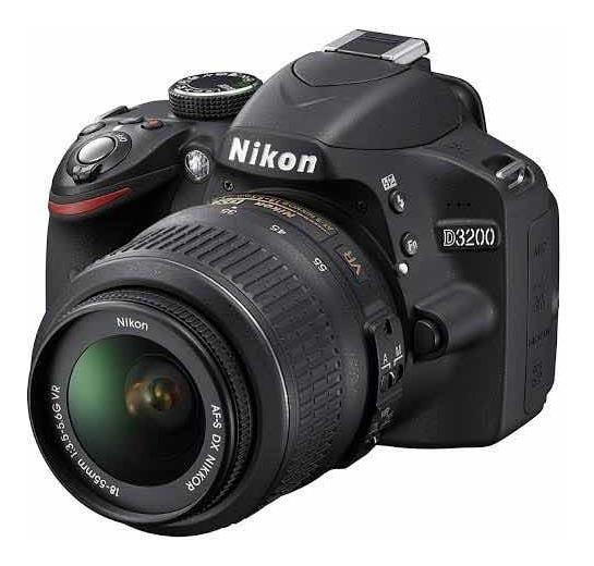 Nikon D3200 C/ Adaptador Wi-fi
