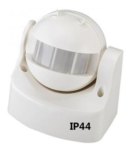 Sensor Detector Movimiento Pared 180º Infrarojo Ip44 220v