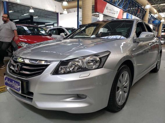 Honda Accord 3.5 V6 Ex 4p Prata 2011 (automático + Couro)