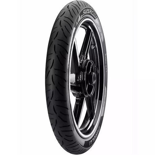 Cubierta Pirelli 80 100 18 Super City(47p)tl Lacuadra Motos