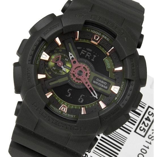 Reloj G-shock Gmas 110cm 3a Resistente Al Agua Envio Gratis