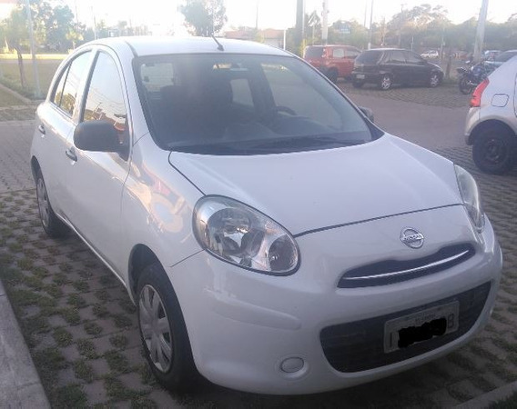 Nissan March Motor 1.0 Flex 2013 Branco 5 Portas