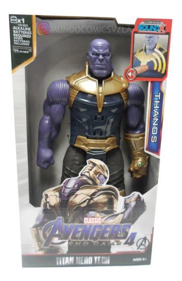 Muñeco De Thanos Articulado Con Luz Y Sonido 30cm