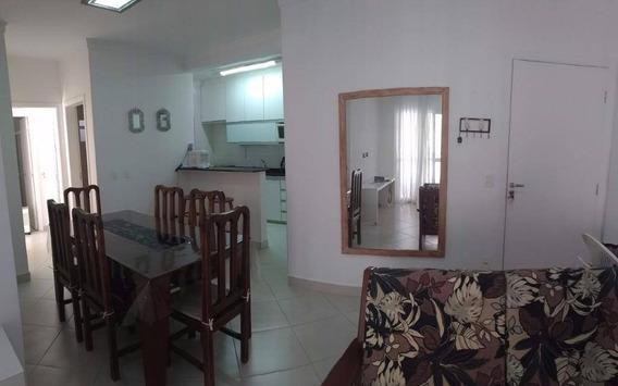 Apartamento Com 2 Dormitórios Para Alugar, 75 M² Por R$ 430,00/dia - Praia Grande - Ubatuba/sp - Ap0187