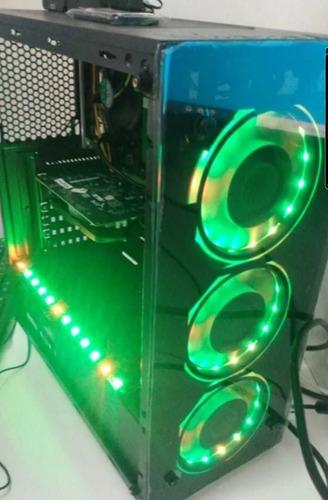 Pc Gamer Amd R5 3400, B450asus, Wd480 M2 Hyper Fury 8 Gb