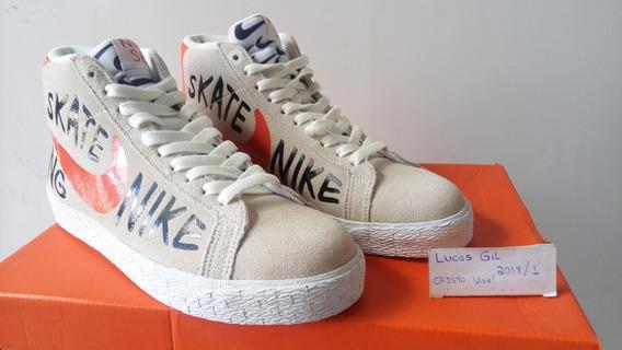 Tênis Nike Sb Blazer Mid Premium Skate - 100% Original