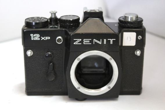 Câmera Fotografica Zenit 12xp Retro Coleção Retirada De Peça