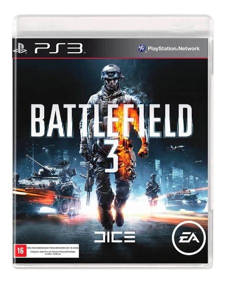 Battlefield 3 Playstation 3 Ps3 Jogo Mídia Física Lacrado