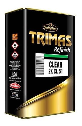 Trimas Kit Barniz Pu 2k 5 A 1 750ml + Catalizador 150ml
