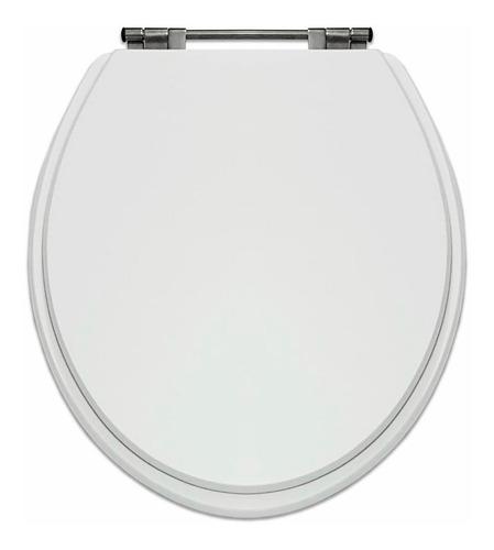 Imagem 1 de 6 de Oferta Tampo De Vaso Poliéster Áries Branco Louça Da Eternit