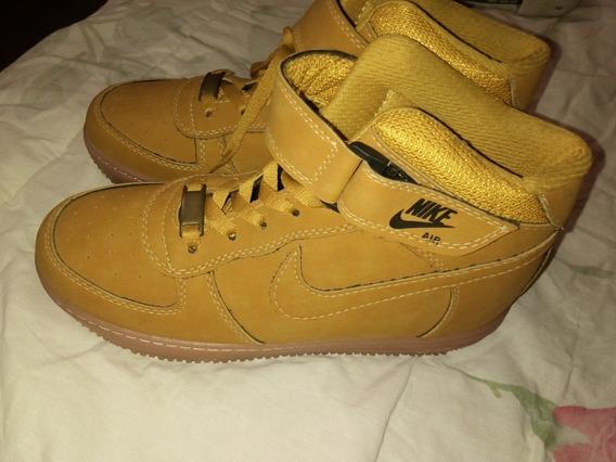 Botines Nike Air Max Ocre
